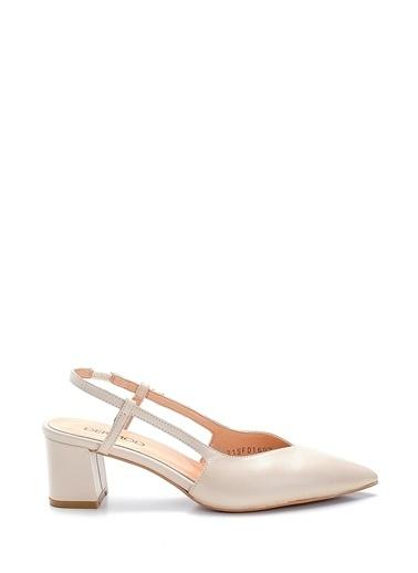 Derimod Kadın Ayakkabı (883-04) Gova/Stiletto Ekru